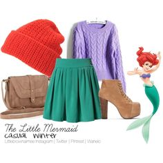 Little Mermaid Inspired Outfit