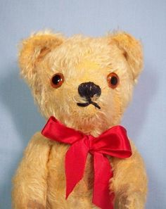 Great Vintage Mohair Teddy Bear