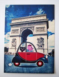 www.ingelaparrhenius.com  Paris, Arc de Triomphe