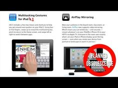 Enable Multitasking Gestures and Display Mirroring on iPad 1