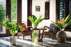 Vietnamese house_Indochine Style
