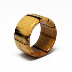 Items similar to Size Wooden Ring - Spalted Oak on Etsy