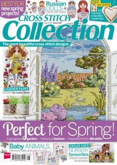 Cross Stitch Collection Issue 235 May 2014 Zinio Patterns pinned Cross Stitch Tree, Cross Stitch Books, Mini Cross Stitch, Beaded Cross Stitch, Cross Stitch Kits, Cross Stitch Designs, Cross Stitch Embroidery, Cross Stitch Patterns, Embroidery Patterns