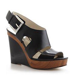 MICHAEL Michael Kors Carla Platform Wedge Sandals | Dillard's Mobile $150.00