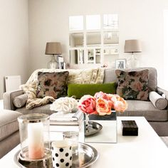 Cosy blush & neutral transitional living room Transitional Living Rooms, Lounge Decor, Cosy, Beautiful Homes, Colours, Linens, Faux Fur, Neutral, Blush