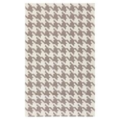Atkins Houndstooth Area Rug