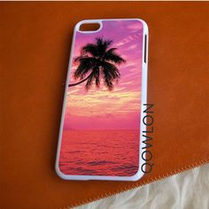 Sunset Beach with Palm iPod Touch 6 | 6TH GEN Case