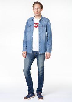 #new #newcollection #men #mencollection #shirt #denim #levis #leviscollection #liveinlevis #tshirt
