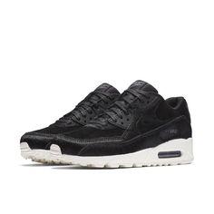 check out 2ea2b 46ea9 Nike Air Max 90 LX Womens Running Shoes Black Dark Grey Sail  Nike   RunningShoes