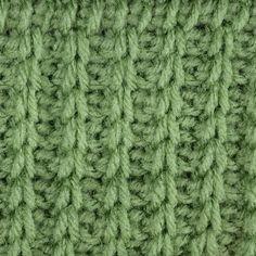 My Tunisian Crochet: Tunisian Rib