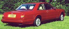 Bentley Continental R, 1992, #NCH42015, Mulliner Park Ward Coupй. The bootlid's lock is accessible after lifting the 'Winged B' emblem.