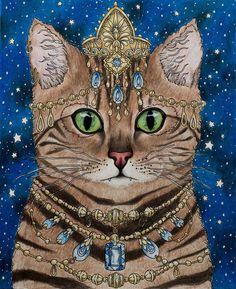 Hanna Karlzon's Magisk Gryning (Magical Dawn) - Cat & Gems