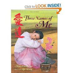 three names of me.  chinese adoption story