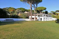 Recent villa at the gulf of St Tropez #Grimaud  Walking distance to the beach in a peaceful area near the golf of Beauvallon.  Superb contemporary villa with sea view on the Gulf of Saint-Tropez, flat land, beautiful living area with large windows opening onto large terraces, 5 Rooms en suite, heated pool of 15 x 5 m, summer kitchen, garage, https://aiximmo.ch/en/listing/recent-villa-at-the-gulf-of-st-tropez/  #frenchriviera #cotedazur #mallorca #marbella #sainttropez #s