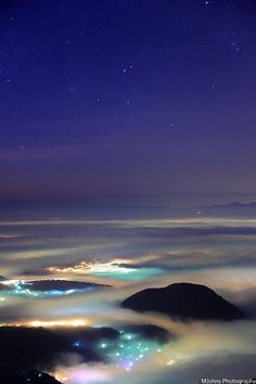 Sea of clouds - Mount Datun, Taiwan