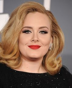 Love that makeup 11 Times Adele's Eyeliner Was Too Perfect For Words