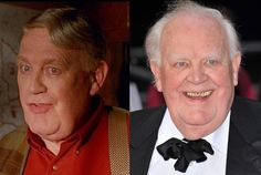 The Mighty Ducks aside, Joss Ackland is actually a quite accomplished English actor of stage and screen. He has appeared in more than 100 films and returned for the third Ducks movie. But his biggest regret comes from an earlier film: He says he wishes he never starred in Bill & Ted's Bogus Journey. Fair enough. #snakkle #celebs #hockey