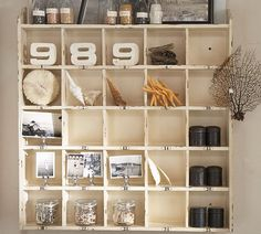 Cozy.Cottage.Cute.: Cubby Shelf Makeover