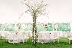 Inn at Barley Sheaf Farm Wedding | Pink and Gold Table Decor | @@Jessa Schifilliti of Love & Light Photographs