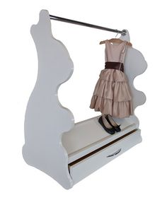 Love this White Rabbit Mobile Dress-Up Clothes & Shoes Organizer by Ace Baby Furniture on #zulily! #zulilyfinds