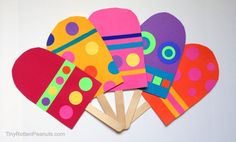 paper popsicle craft