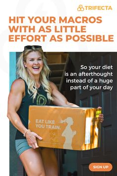 Trifecta gives you the food, the advice, and the community support you need to achieve your goals. We do the meal planning, shopping, and cooking, so you can focus on everything else.