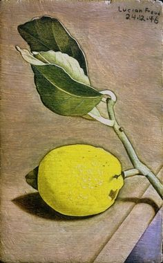 Lucian Freud: Still Life with Lemon