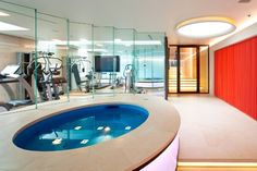 pool in basement layout - Google Search