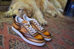 "The real kicks... patinaed by Paulus Bolten... with the quiet sleepy look of my Golden ""Brisa""...."