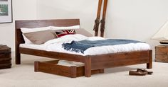 Chelsea Bed | Get Laid Beds http://www.getlaidbeds.com/standard-height-beds/chelsea-handmade-wood-bed-frame