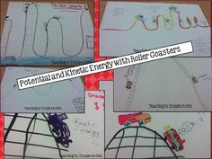 Potential and Kinetic Energy Roller Coaster Fun!