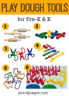 The Best Play Dough Toys for Preschoolers. Make learning fun with these hands-on dough tools that will also provide opportunities for fine motor development!