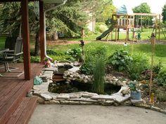 backyard ponds | Backyard Pond DIY - DanielsWorlds