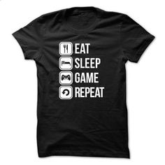 Limited Edition - Eat sleep game repeat - hoodie outfit #tee #shirt