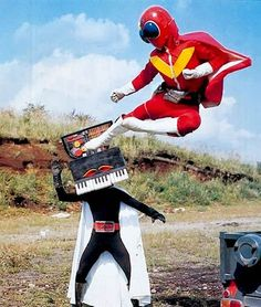 Live action Japanese show + Homestar Runner= pure awesomeness.