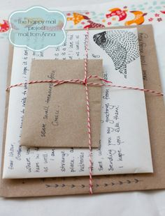 Happy Mail project: letter from Anna ♥ | Ishtar Olivera #snailmail