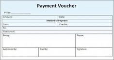 Pin By Pixelstudio On Payment Voucher