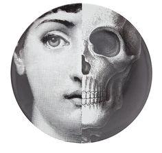 Plate by Piero Fornasetti, Lina Cavalieri's face.