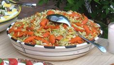 Orzo with Roasted Carrots & Dill and Italian Potato Salad