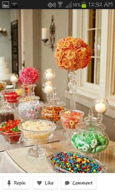 Candy Bar??? Every brings their favorite to share????