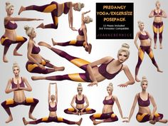 "joannebernice: "" PREGNANT YOGA POSES Click the image above for a larger picture This one was a private request made by I made pretty much all the poses on a video they gave me found HERE. I know we all have some pregnant sims and they. Sims 4 Mods, Sims 4 Game Mods, The Sims 4 Pc, My Sims, Sims Cc, Sims Pregnant, Pregnant Yoga, Sims 4 Couple Poses, Sims 4 Black Hair"