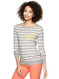 Eversoft bow sweater | Gap - so cute with the bow!!