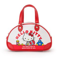 7b2c25fe96 Hello Kitty Mini Boston Bag Tennis Sanrio Kawaii Japan f s Hello Kitty Bag