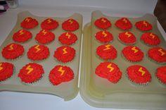 Lighting Mcqueen cupcakes