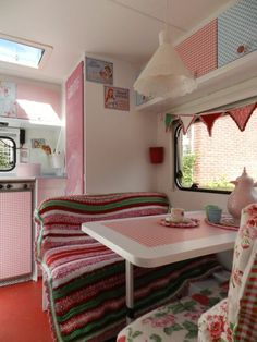 colourful crochet caravan #caravanity