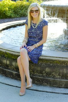 What I Wore: The Perfect Lace Dress (  a giveaway)