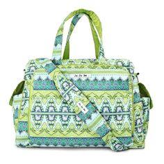 Ju Ju Be Be Prepared Diaper Bag - Sea Glass -