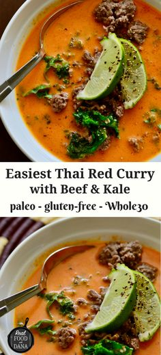 Easiest Thai Red Curry | Real Food with Dana