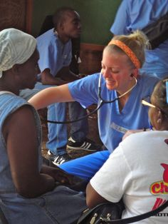 Members of the Connell School of Nursing traveled to Haiti earlier this month to provide care to hundreds of local residents via mobile medical clinics.