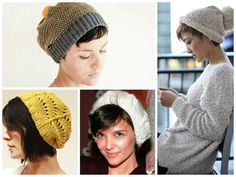 How to do short hair and beanies.